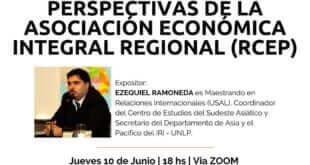 Trayectoria y Perspectiva de la Asociación Económica Integral Regional (RCEP)