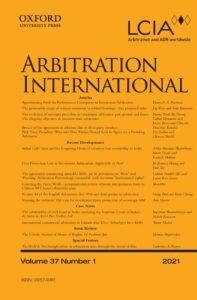 Arbitration International - Volume 37, Issue 1, March 2021