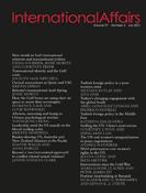 International Affairs - Volume 97, Issue 4, July 2021