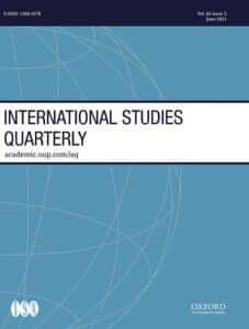 International Studies Quarterly - Volume 65, Issue 2, June 2021
