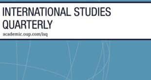 International Studies Quarterly – Volume 65, Issue 2, June 2021