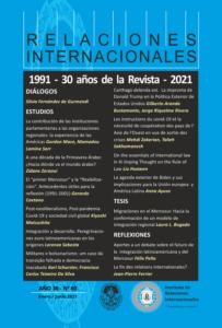 Revista Relaciones Internacionales - Vol. 30 Núm. 60 (2021)