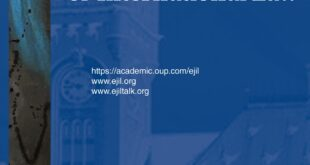European Journal of International Law – Volume 32, Issue 2, May 2021
