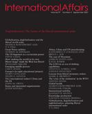 International Affairs – Volume 97, Issue 5, September 2021