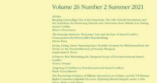 Journal of Conflict & Security Law – Volume 26, Issue 2, Summer 2021