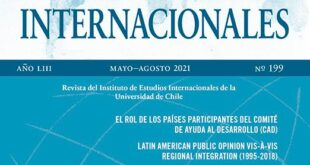 Estudios Internacionales – Vol. 53 Núm. 199 (2021): Mayo-Agosto